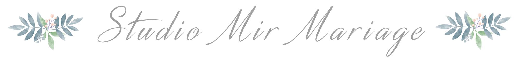 Studio Mir Mariage : votre équipe de photographes pour votre mariage