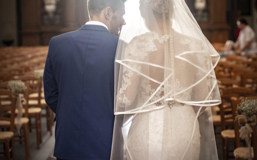 Photographe mariage religieux à Arras