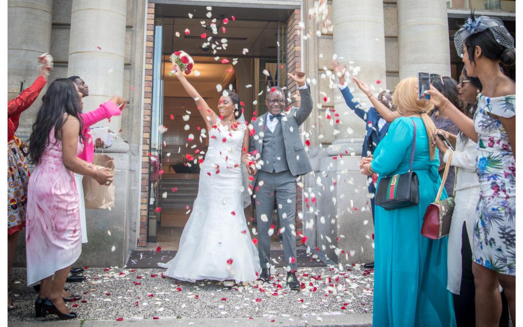 Photographe de mariage à la mairie de Saint-Maur des Fossés