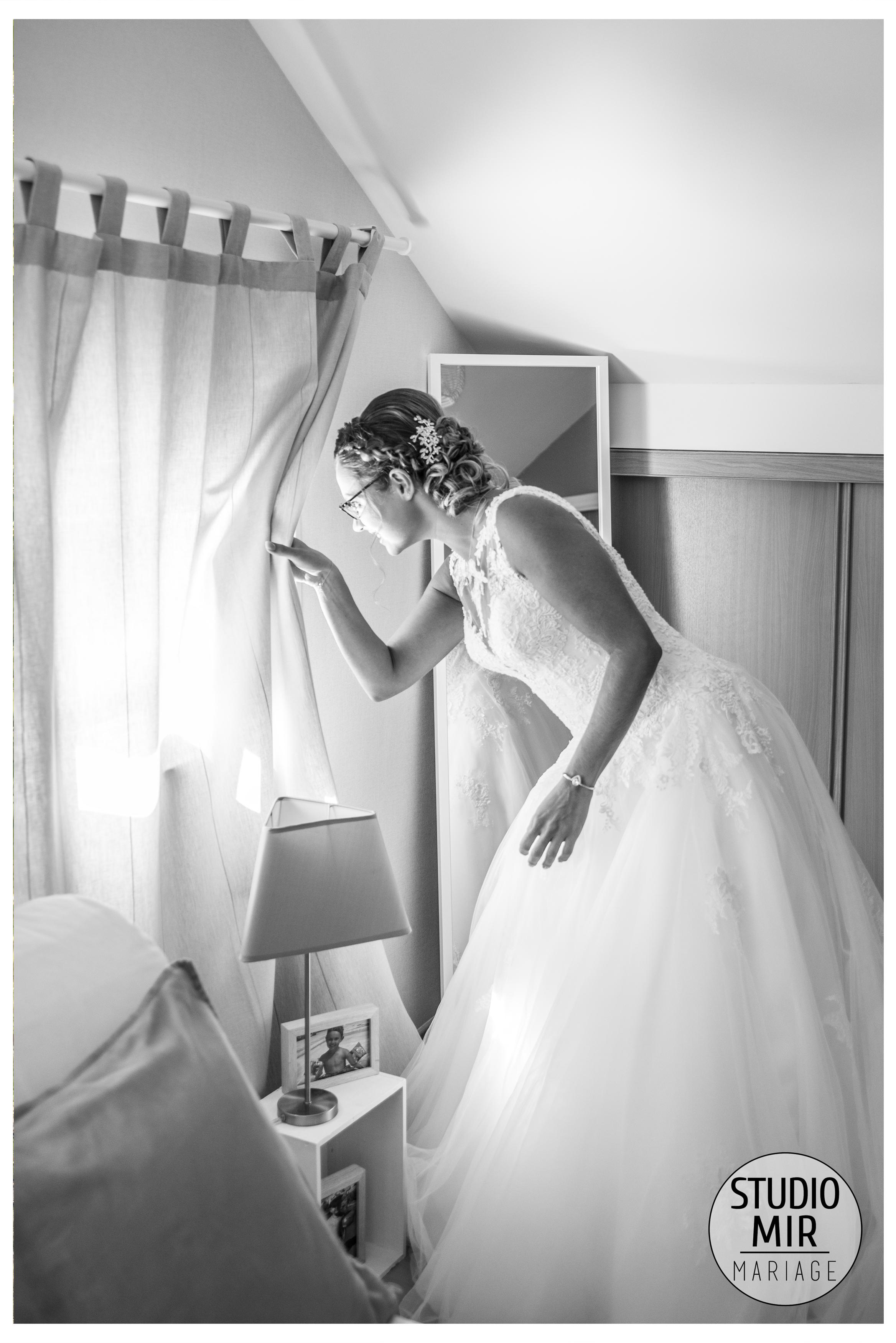 Les préparatifs de la mariée à Noisy le Grand