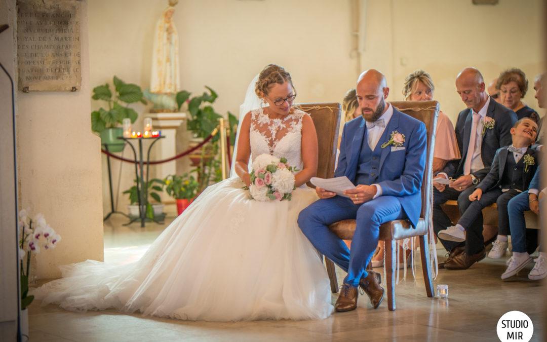 Photographe de mariage à l'Église de Noisy le Grand