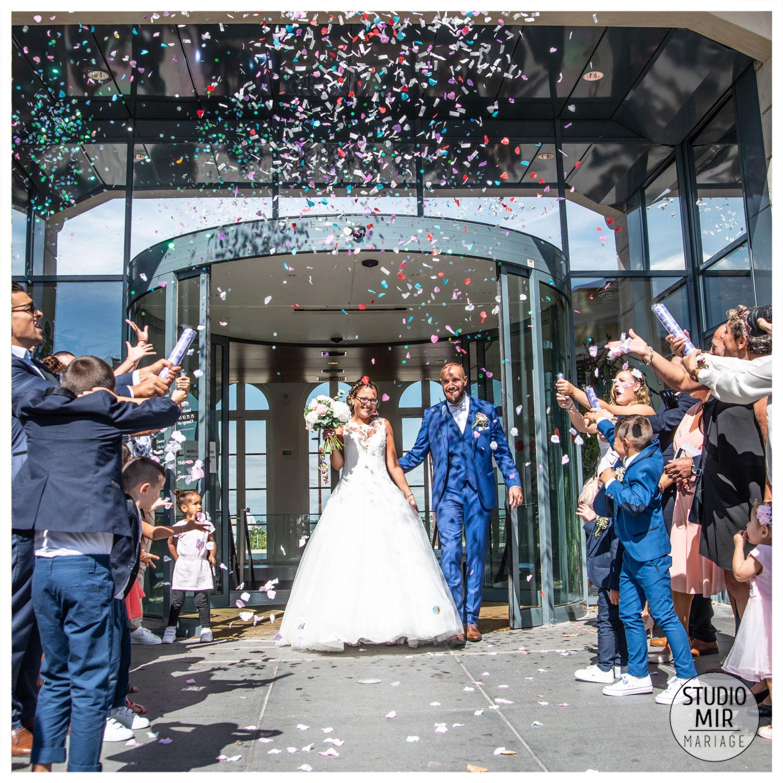 Photographe de mariage à la mairie en Île de France