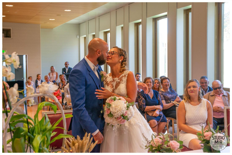 Photographe de mariage à la mairie de Noisy-le-Grand en Île de France