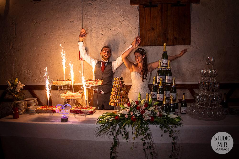 Photographe de mariage : Soirée de mariage et pièce montée en Seine et Marne