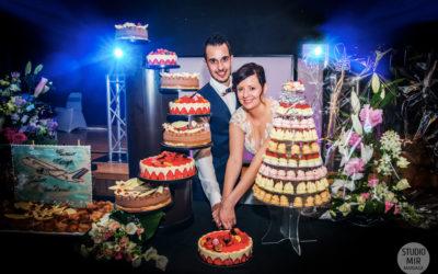 Photographe de mariage : Soirée de Mariage et pièce montée dans le Nord de la France