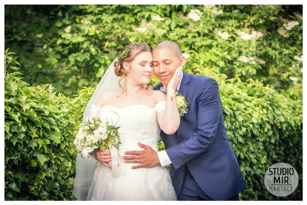 Photos de couple: mariage au Domaine de Pontcarré