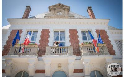 Sortie de mariage – Mairie de Saulx les Chartreux