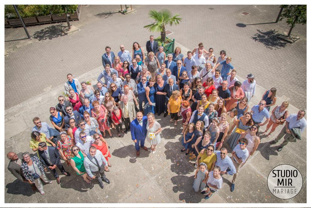 Sortie de mariage - Mairie de Saulx les Chartreux