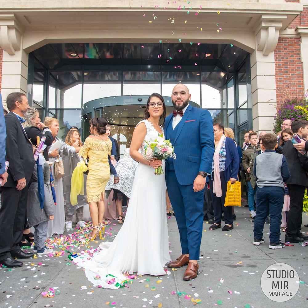 Photographe de mariage : mariage à la mairie de Noisy-le-Grand