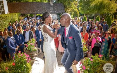 Photographe et vidéaste de mariage : Vin d'honneur des mariés dans les Yvelines