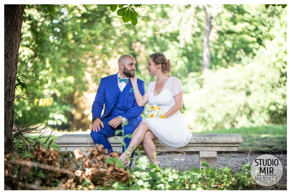 Photographe de mariage : photos de couple dans l'Essonne