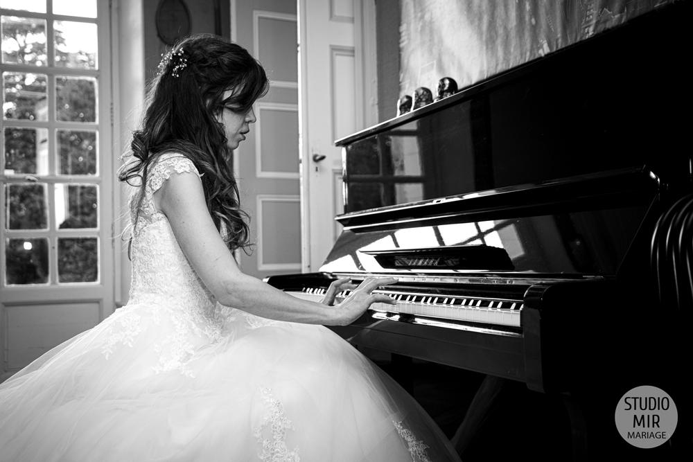 Les photos en noir et blanc : l'authenticité et l'intimité de votre mariage