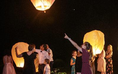 Un lâcher de lanternes le soir de votre mariage en Ile de France ?