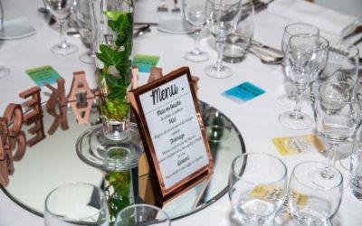 Un plan de table original pour un mariage dans les Yvelines